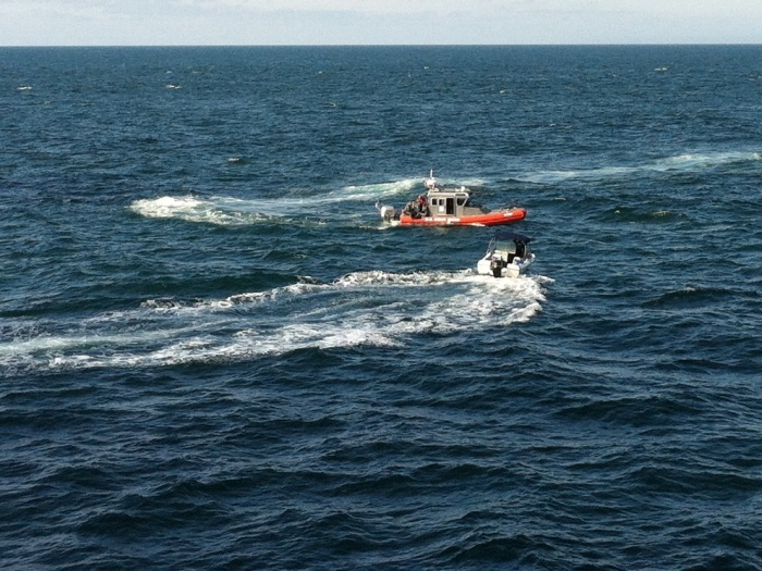 USCG picks up the two divers