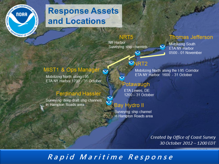 Rapid Maritime Response 31Oct2012 - SANDY
