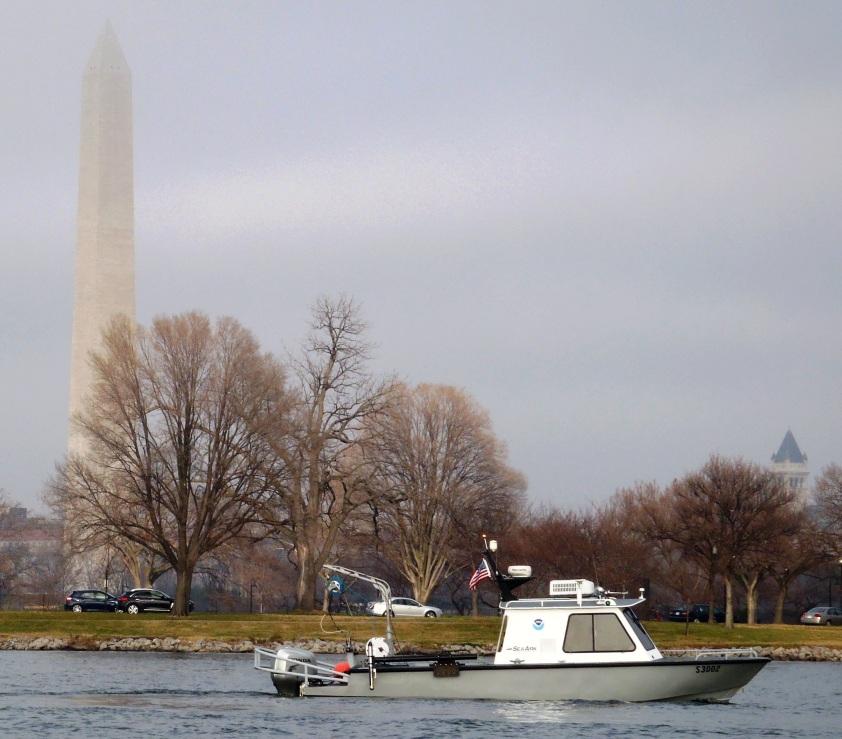 NRT5 surveys the Potomac River
