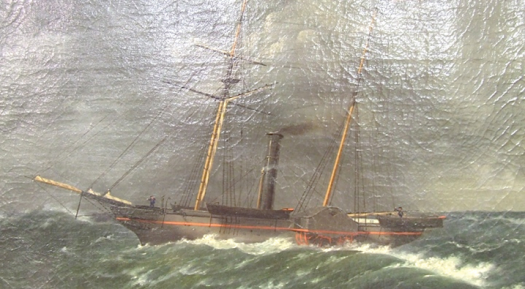 Martin painting of the Walker