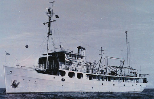 U.S. Coast and Geodetic Survey Ship Hydrographer