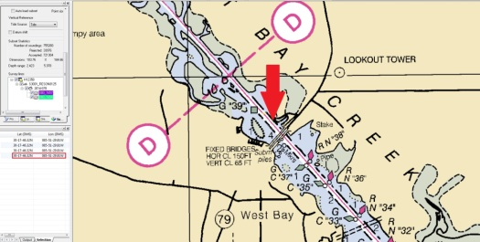 obstruction_West_Bay_Creek_Chart_Location