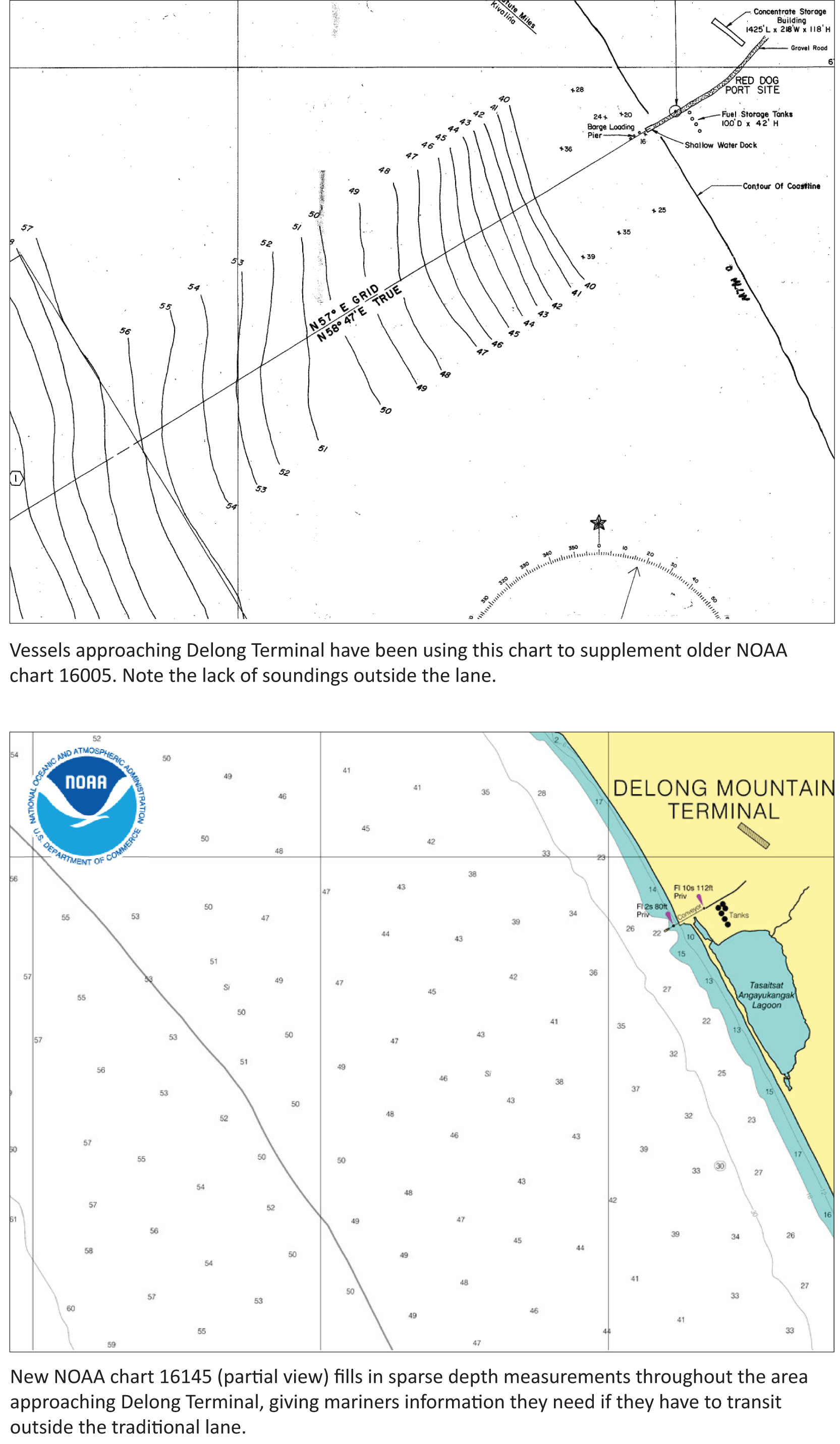 Noaa Issues New Nautical Chart For The Arctic News Updates Diagram Of Mountai 16145 Fills In Historically Sparse Depth Measurements Using Survey Data Recently Acquired Specifically This