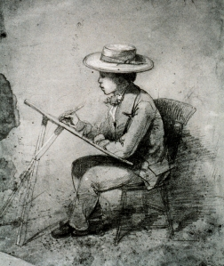 sketch of John Ross Key