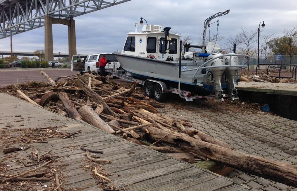 NRT2 surveys Marcus Hook Anchorage