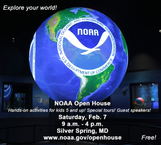 2015 NOAA Open House Ad