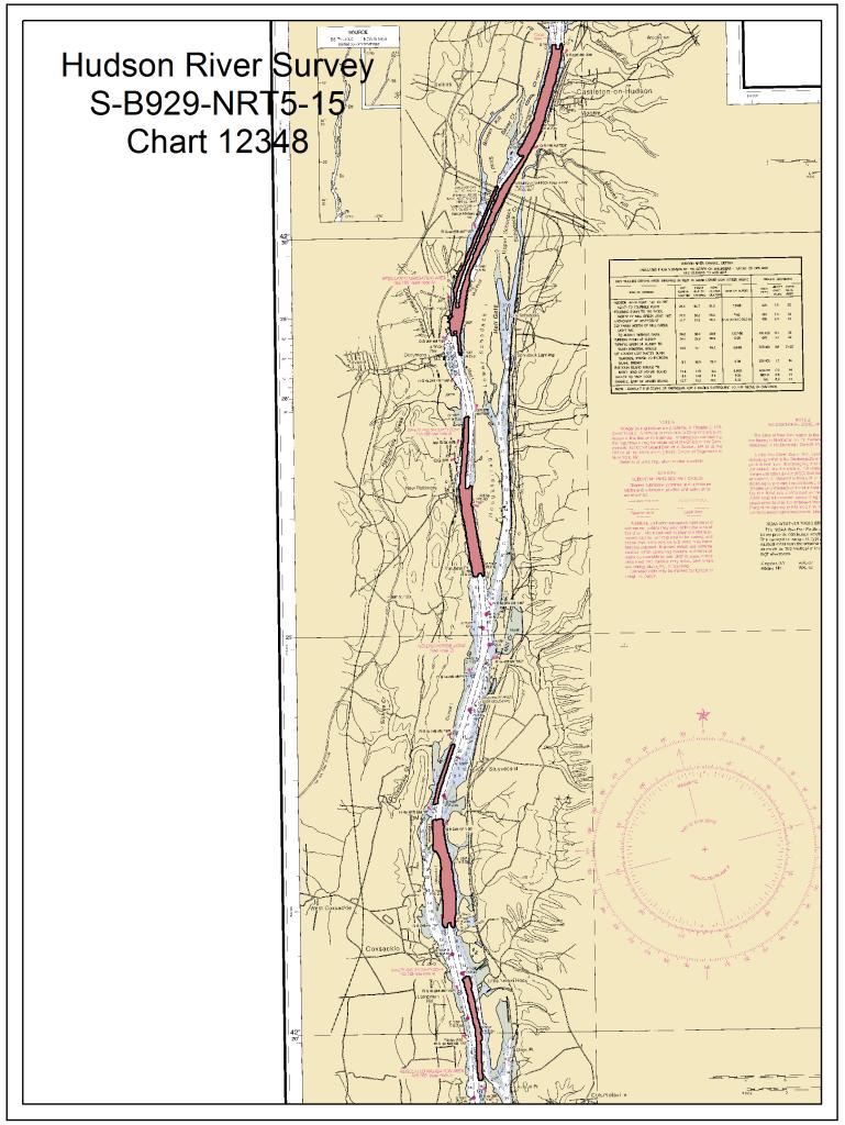 Hudson River_chart12348