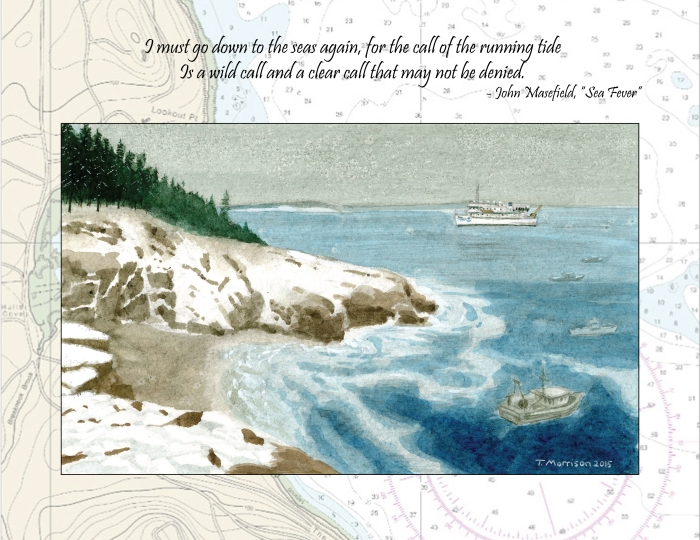 NOAA Winter Coast w Masefield quote