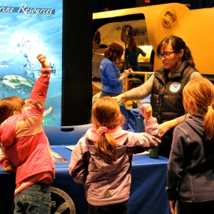 These kids had a great time getting their hands on science at last year's Open House.