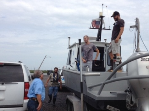 Alan Bunn and NRT - Hurricane Isaac